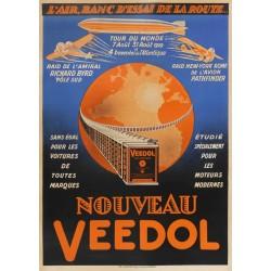 VEEDOL TOUR du MONDE 1929 en ZEPPELIN,