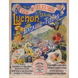 LUCHON . BATAILLE DES FLEURS
