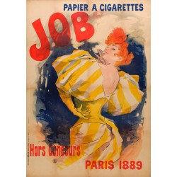 PAPIER A CiGARETTES JOB 1889