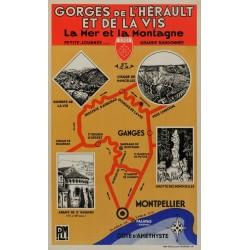 GORGES de L'HERAULT ET DE LA VIS