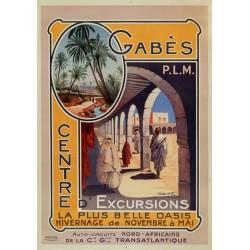 GABES (TUNISIE).CENTRE D'EXCURSIONS...