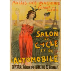 SALON CYCLE AUTOMOBILE PARIS CHAMP de MARS