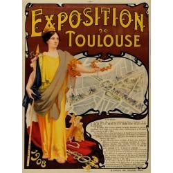 EXPOSITION DE TOULOUSE 1908