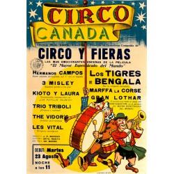 CIRCO CANADA. CIRCO Y FIERAS