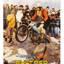 BULTACO TRIAL. 1979 BERNIE SCHREIBER