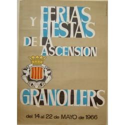 GRANOLLERS. FERIAS Y FIESTAS DE LA ASCENSIÓN 1966