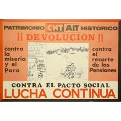 CNT-AIT ¡¡DEVOLUCION!! LUCHA CONTINUA