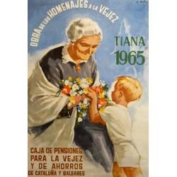 TIANA 1965 - CAJA DE PENSIONES