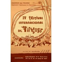 IV FESTIVAL INTERNACIONAL DE TITELLES