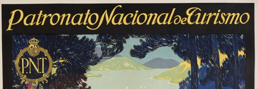 Vintage travel poster auction